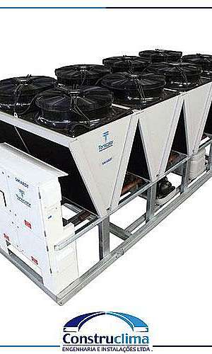 Conserto chiller carrier